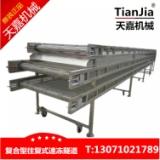大虾 鸡柳速冻流水线系列 不锈钢物料输送设备生产厂家