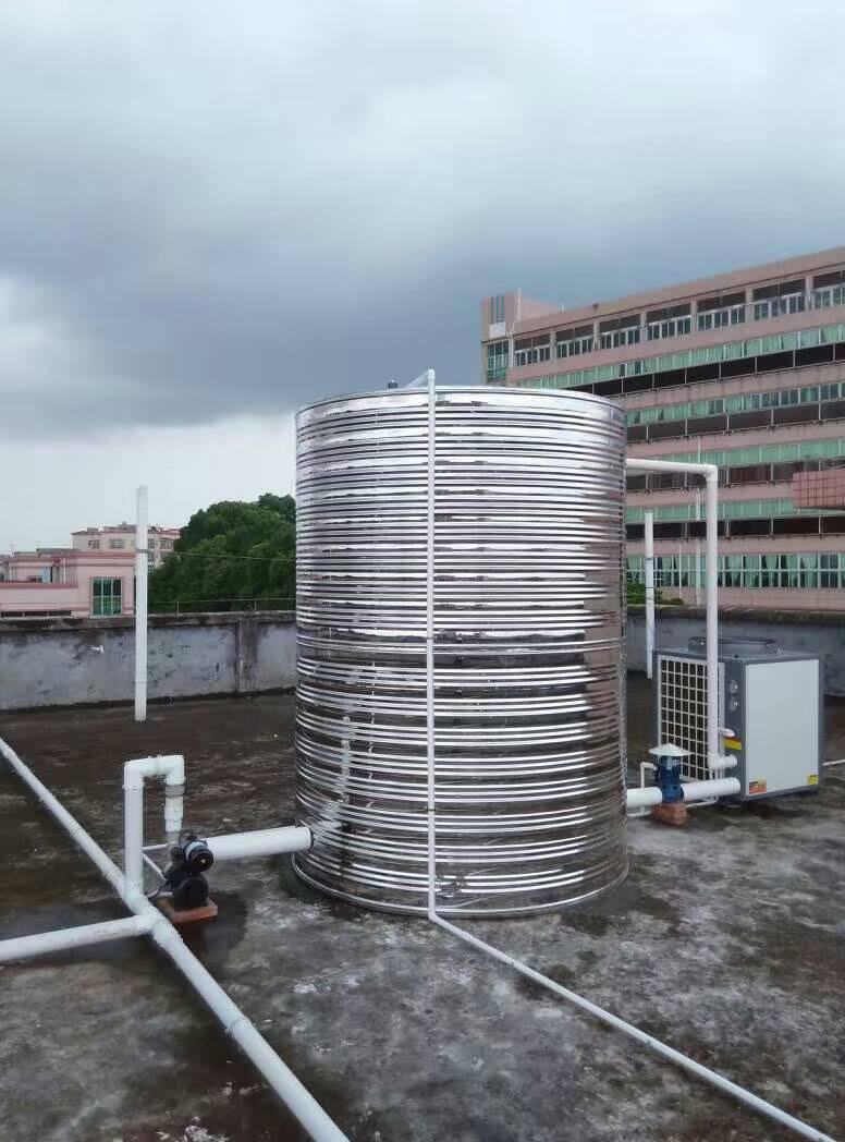 柳州养殖场空气能热水地暖采暖热泵