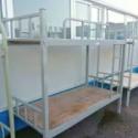 厂家直销组合床 2m多功能钢木高架组合床 学生员工公寓侧梯铁床