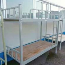 现代简约双层高低上下铺欧式铁艺床 铁架床 学生上下铺单人铁艺床