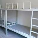 学生双层侧梯铁架床厂家 定做员工图片
