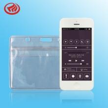 厂家专业生产透明PVC证件卡套防水拉链环保可按要求定制生产图片