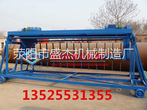 小型猪粪有机肥发酵设备 行走式翻堆机设备价格