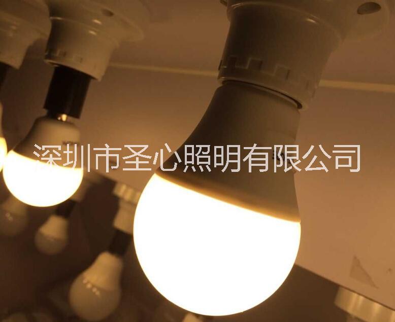 塑包铝足功率7W 9W 12W灯泡 b22 e27 e14球泡灯 saa fcc认证球泡灯 10W
