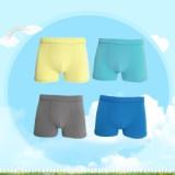 男童内裤平角竹纤维素色时尚内裤 男童内裤平角竹纤维素色时尚内裤