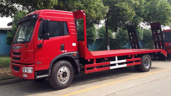 15吨解放龙V挖机拖车厂家直销