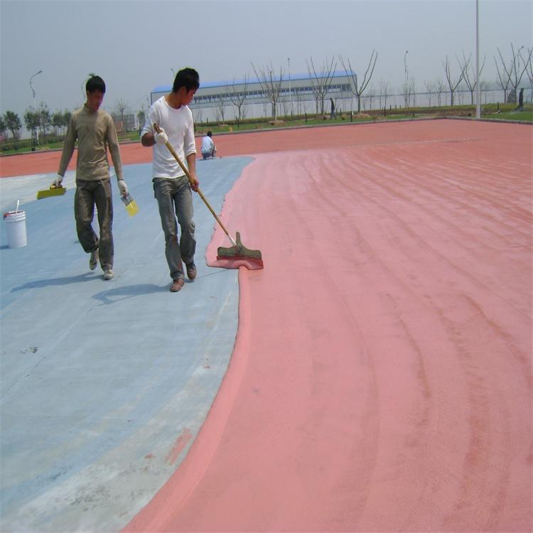 供应 珠海篮球场材料厂家网球场工程羽毛球场施工报价