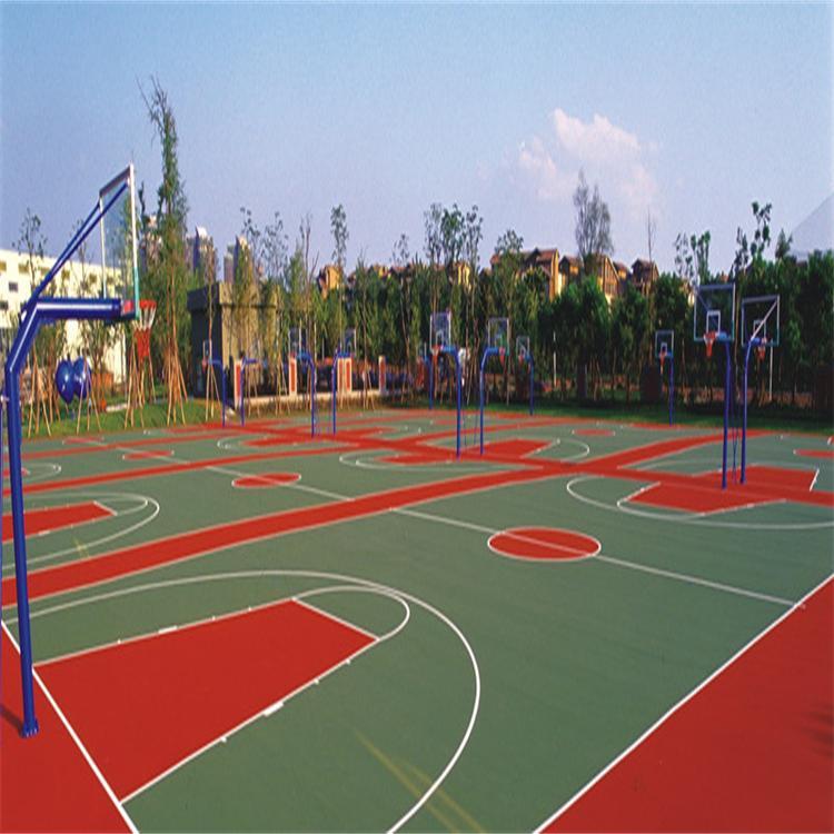 供应 福建硅PU羽毛球场材料篮球场网球场
