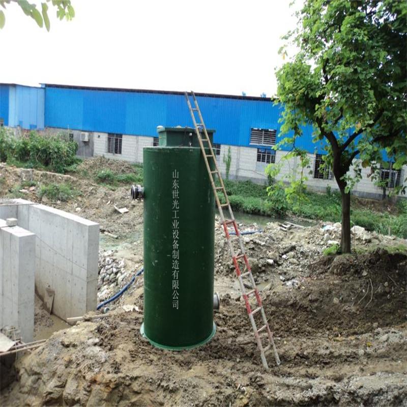 山东地区供应一体化污水提升设备