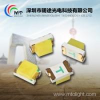 厂家直销 明途0805贴片式灯珠黄绿光单色 0805LED贴片式黄绿光灯珠