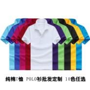 休闲PoloT恤 现货天丝棉T恤批发 厂家POLO衫定做印字 T恤绣花