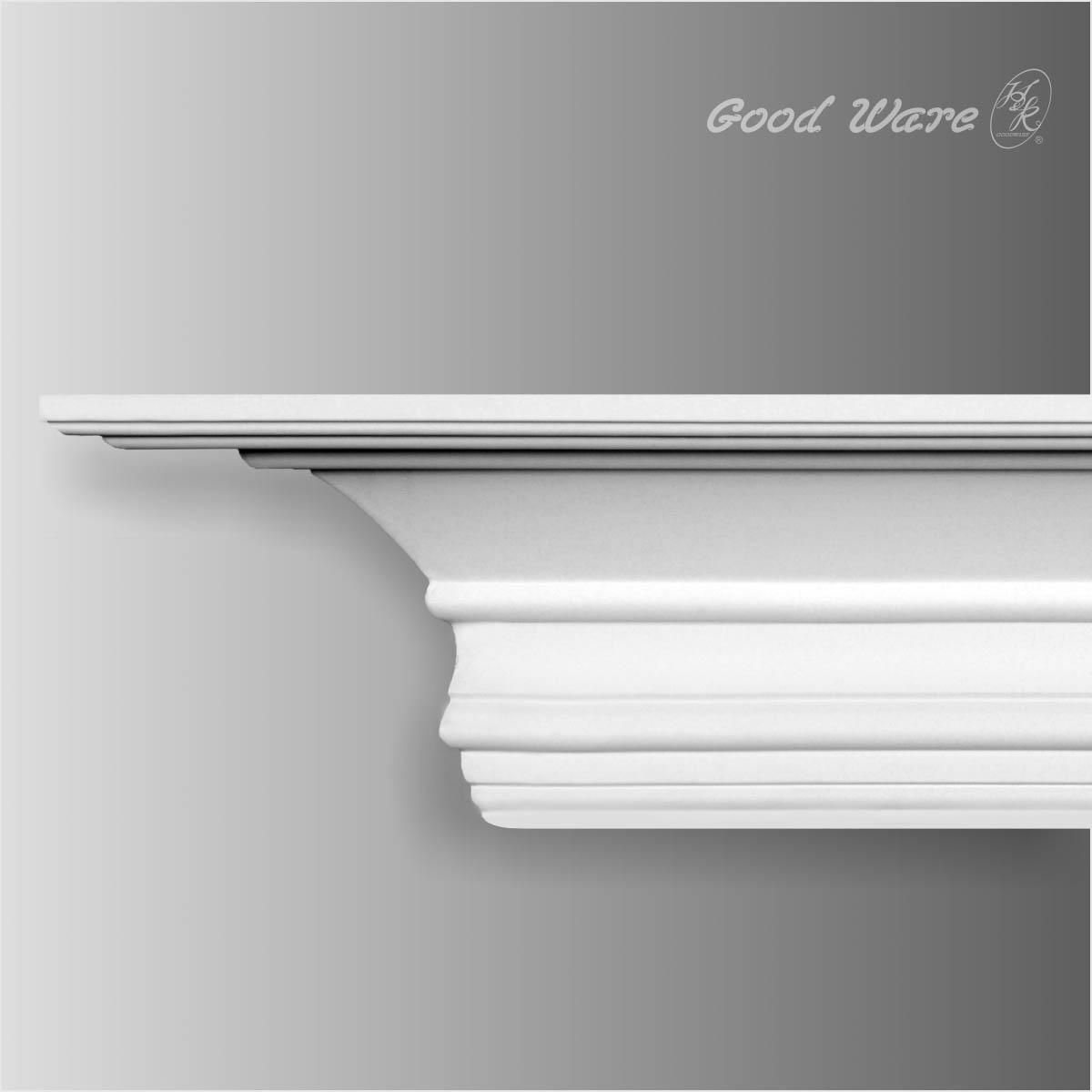华椢GM-0004 欧式别墅装修 客厅吊顶线条 华椢GM-0004 客厅吊顶线条
