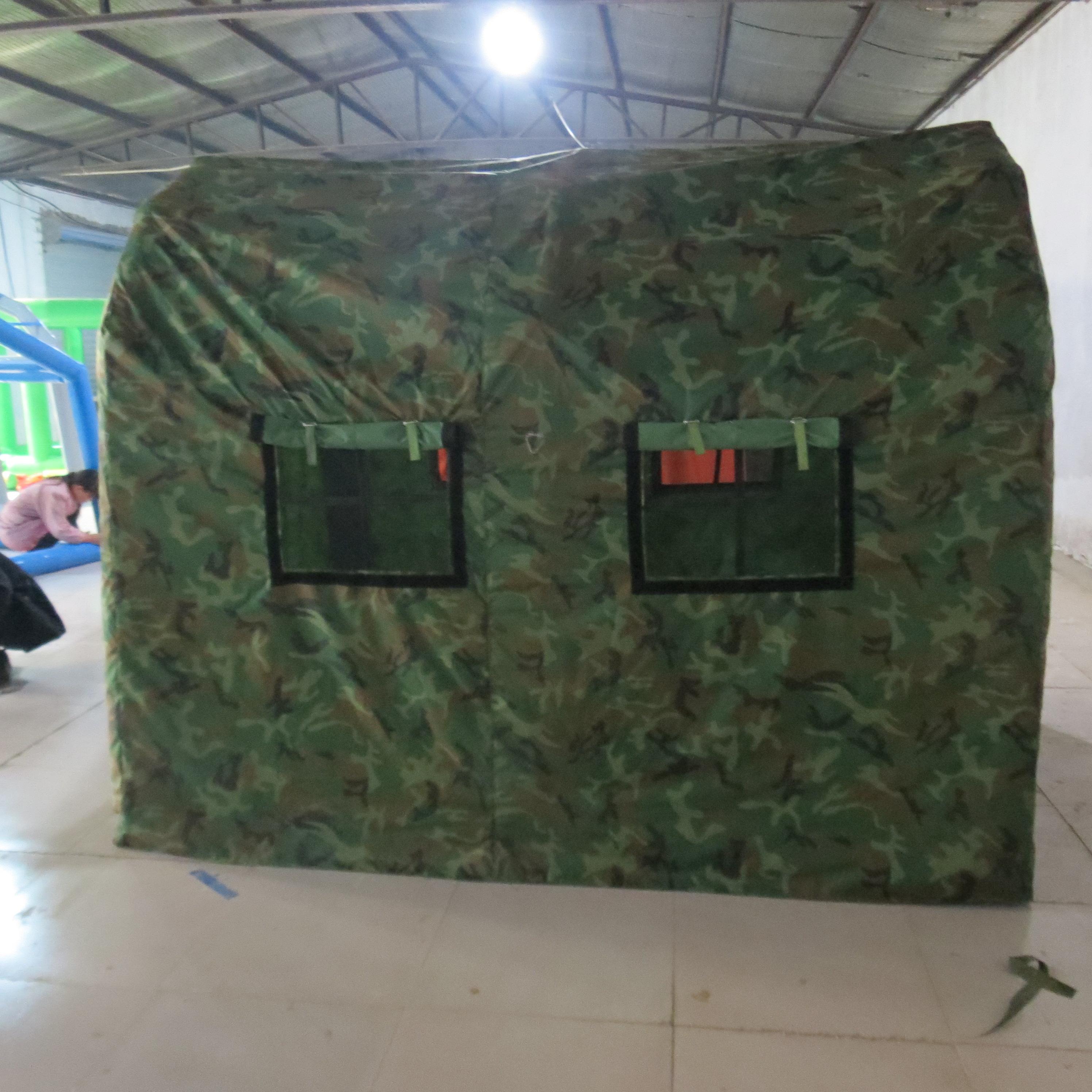 户外保暖营地军用帐篷牛津迷津迷彩施工帐篷迷彩透光