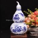 Q106白盖葫芦瓶图片