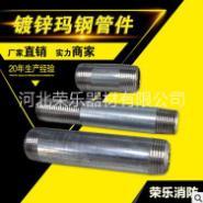 15镀锌铁管水管外丝对丝接头图片
