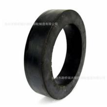 供应8寸实心清洗机轮子橡胶轮耐高温耐磨损品质可靠批发