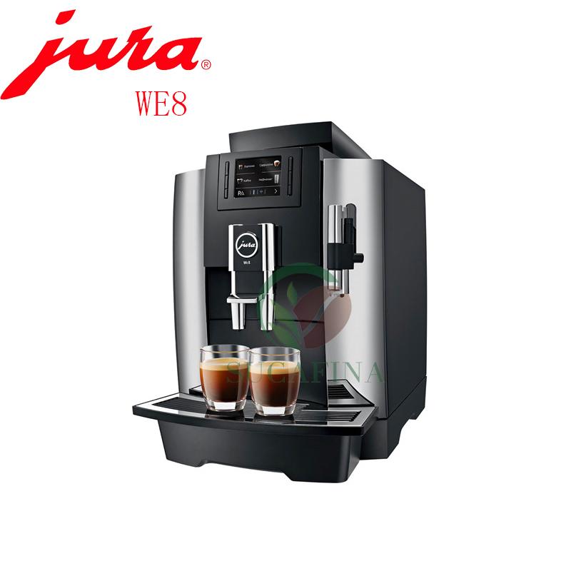 JURA优瑞WE8全自动咖啡机意式进口 商用家用 现磨咖啡 联保