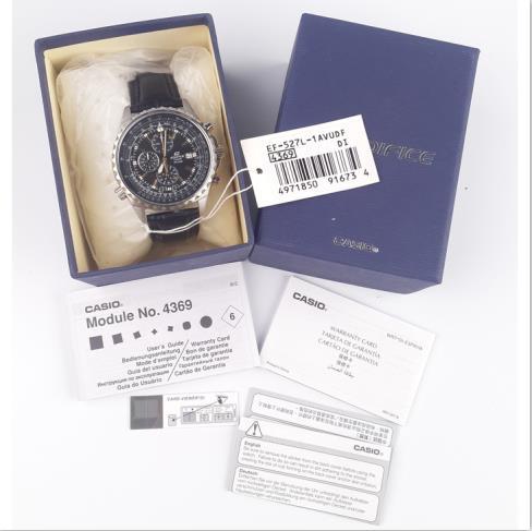 手表 卡西欧4EF-5 华泽贸易 海关货