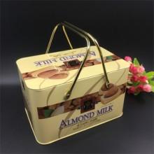 手提铁盒包装 烘焙食品礼品包装罐批发