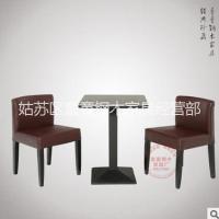 肯德基快餐桌椅小吃奶茶店定制批发姑苏区童童钢木家具经营部