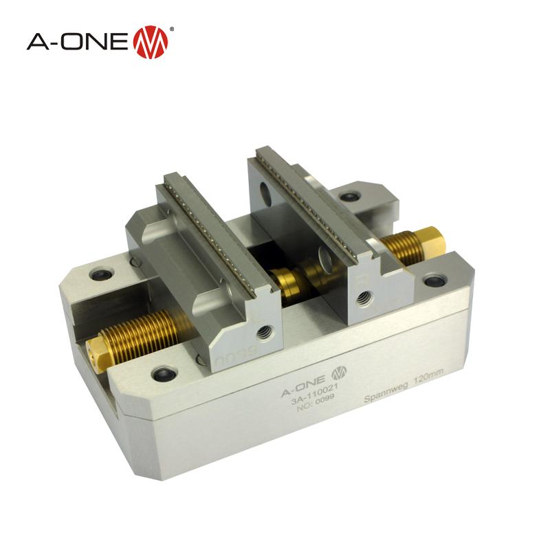 A-ONE自定心虎钳 非标定制 可兼容代替EROWA夹具 可夹持70mm工件