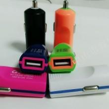 新款迷彩车载充电器点烟器单USB孔高品质手机车充充电器批发