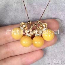 广州S925纯银皇冠吊坠托加工批发价格  供应商直销