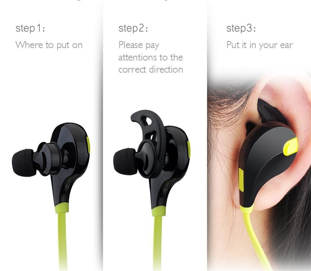 无线运动挂耳式蓝牙耳机4.1立体声音乐入耳塞式通用厂家直销批发