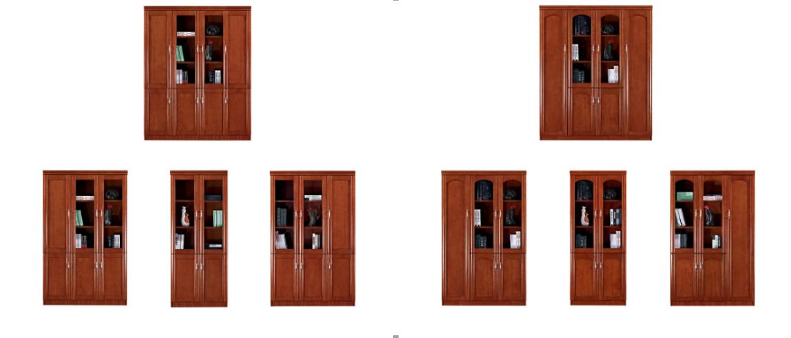 供应广东沃尚龙家具实木文件柜 直销书柜 衣柜