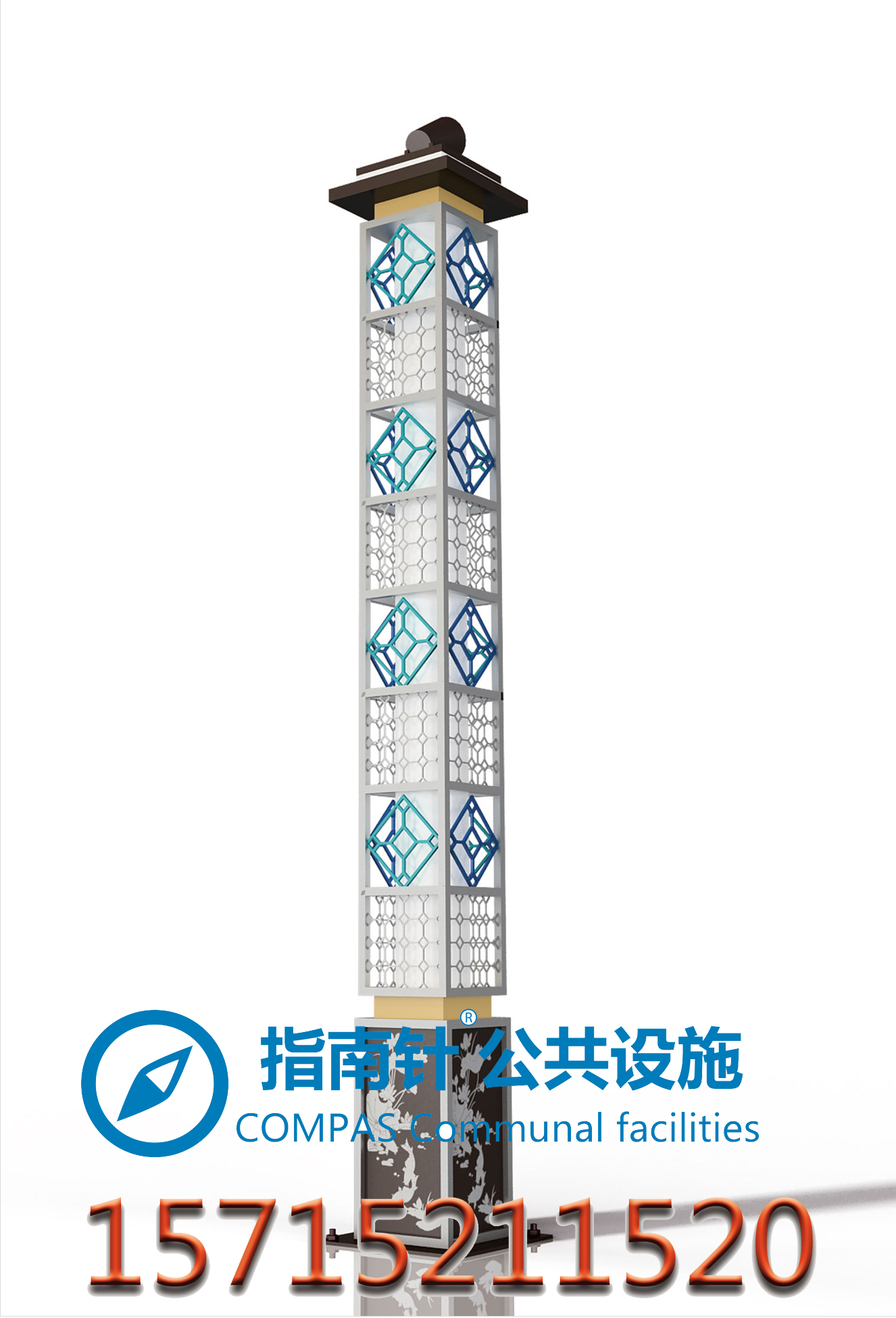 徐州景观灯厂家直销只做精品景观灯,5月指南针景观灯特惠。