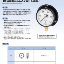 长野计器NKS压力表GV50-123AU1/4B*600.3MPa长野NKS压力表批发