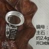 纯银戒指底托 蛋面戒指图片