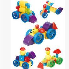 管道状磁性实色磁力片积木新奇特磁性玩具儿童益智拼装厂家直销  儿童玩具益智拼图批发