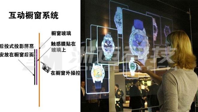 多点触控式人机智能交互包括互动触摸屏、电子签名台、互动投影墙
