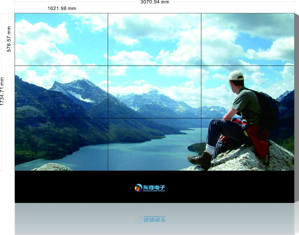 三星46寸3.5屏缝液晶拼接屏 HLCD46寸3.5拼缝拼接屏