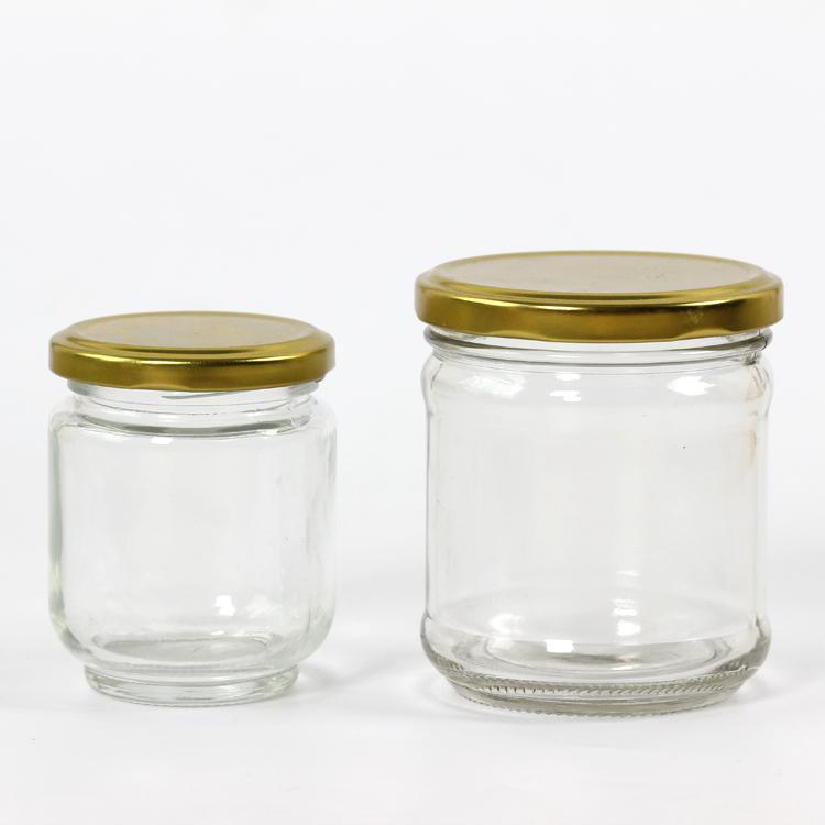 酱菜瓶 玻璃酱菜瓶100ml酱菜瓶马口铁盖酱菜瓶