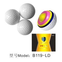 高尔夫多层比赛球 PU练习球,高尔夫配件用品球 高尔夫练习球