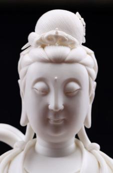 雕塑工艺品摆件 雕塑工艺品哪家好 定做雕塑工艺品 唐县静亮雕塑工艺品厂  陶瓷雕塑白瓷工艺品