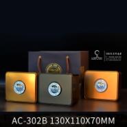 AC-302B 130X110X70MM高档包装盒冬虫夏草/玛咖含片铁罐 燕窝包装盒
