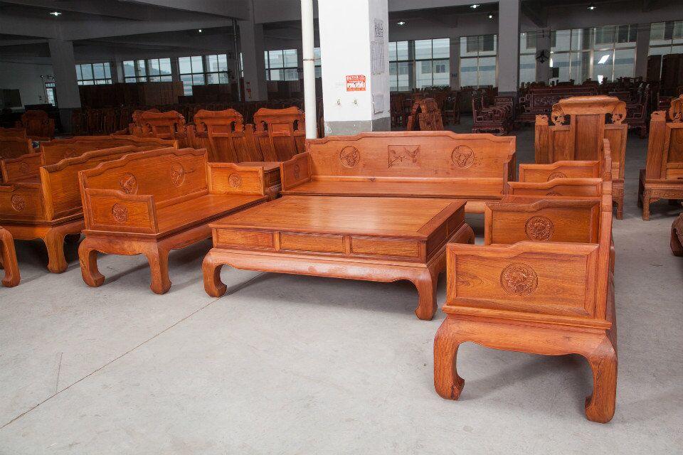 缅甸非洲花梨木明式沙发图片价格报价