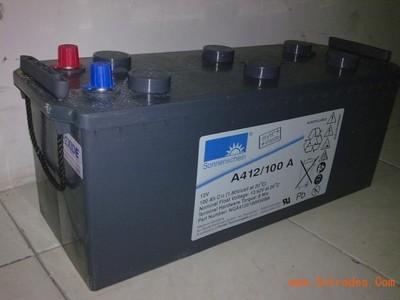 德国阳光蓄电池A4 12/100A纯胶体12V100AH蓄电池质保三年