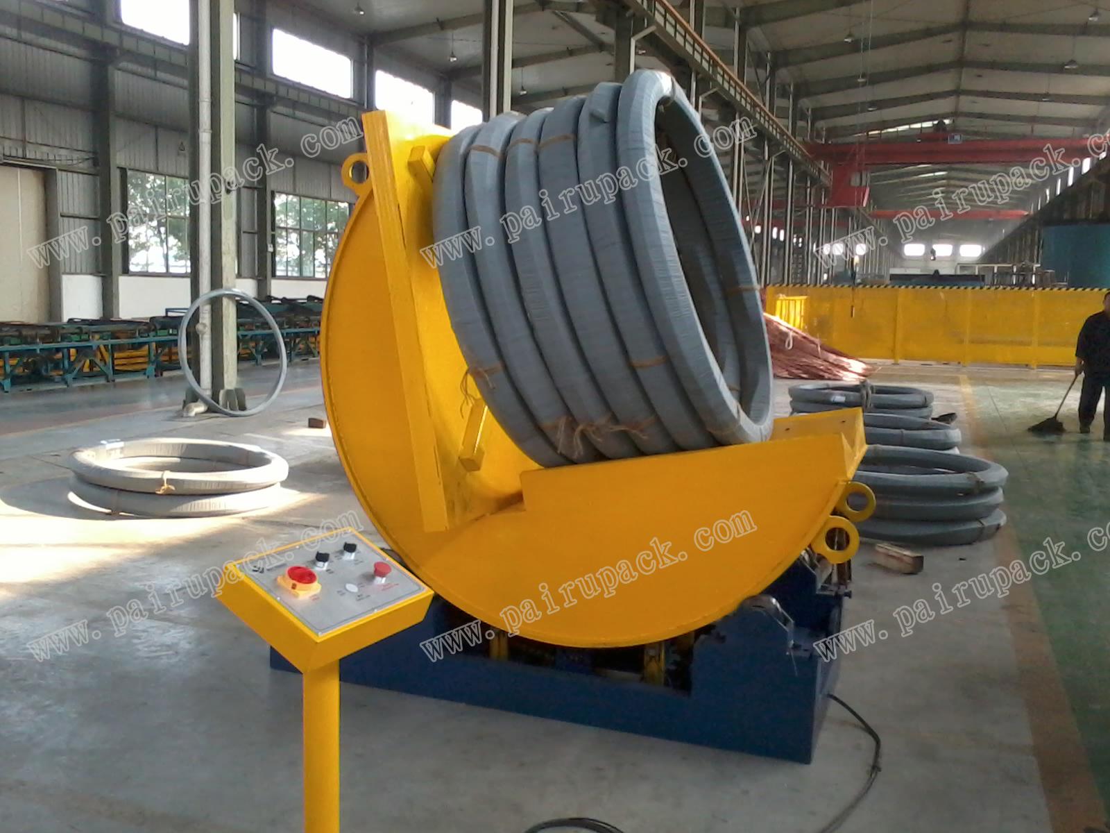 厂家直销自动90度卷材翻转机 翻转机型号有哪些 上海自动90度卷材翻转机生产厂家
