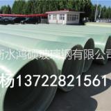 玻璃钢缠绕管道夹砂管道输水管道工业管道玻璃钢穿线管 万诚污水管道