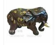 铜大象图片