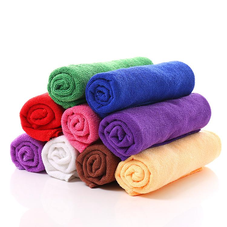 特价批发超细纤维吸水毛巾34*76cm美容美发礼品干发毛巾地摊货源