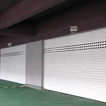 上海型材电动卷帘门,铝合金电动图片