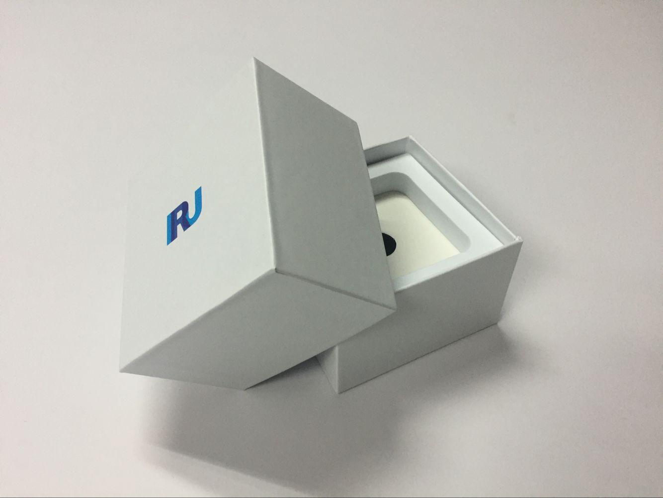 定做移动电源包装盒高档天地盖白色礼品盒充电宝套装礼盒定制批发