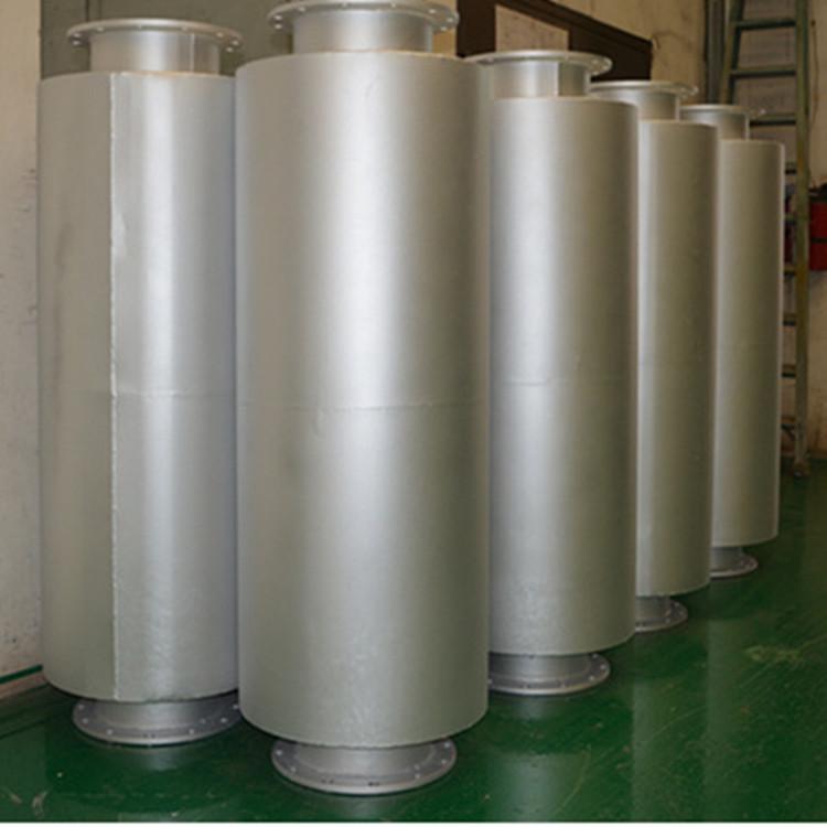 广东厂家发电机消音器 直销  一二级阻尼消声器