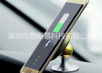 手机无线充支架图片