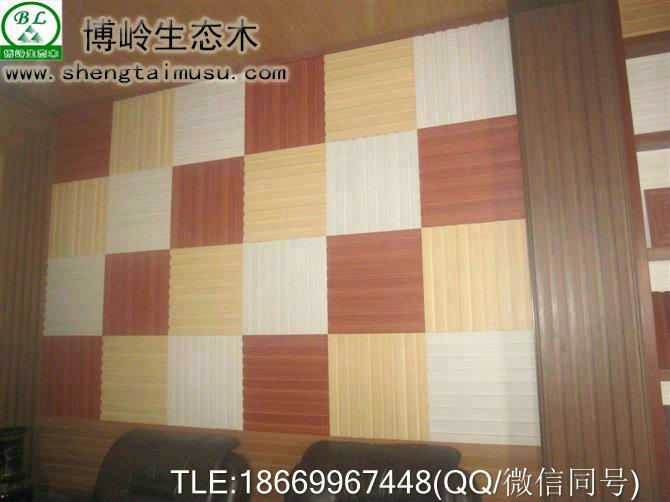 博岭生态木护墙板施工工艺视频报价
